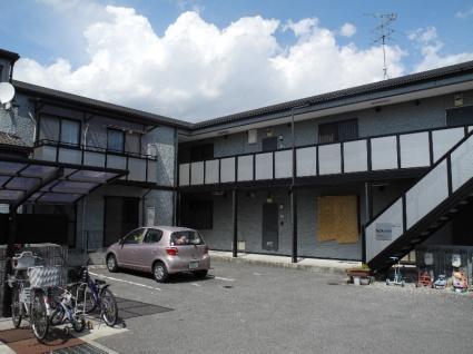 大阪府羽曳野市、恵我ノ荘駅徒歩18分の築17年 2階建の賃貸アパート