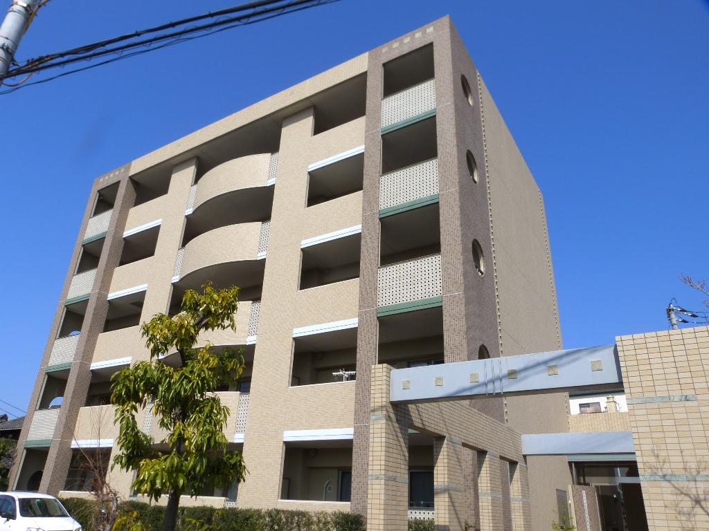 大阪府柏原市、高井田駅徒歩3分の築13年 5階建の賃貸マンション