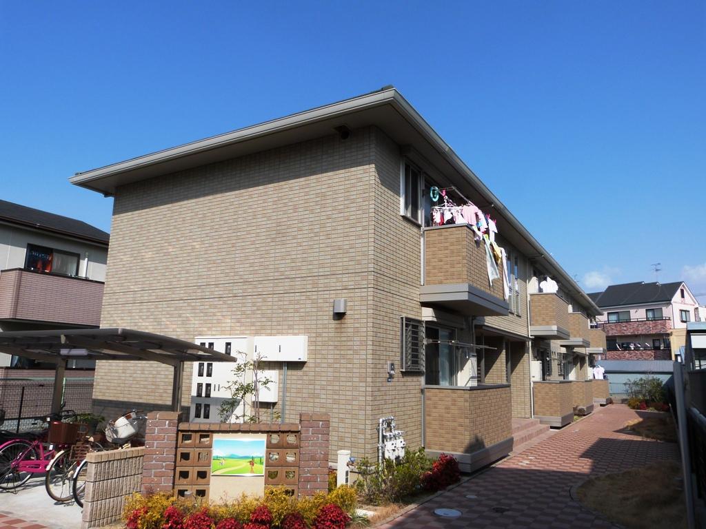 大阪府八尾市、八尾駅徒歩7分の築6年 2階建の賃貸アパート