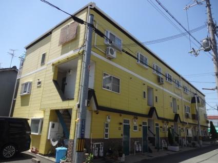 大阪府東大阪市、長瀬駅徒歩18分の築27年 3階建の賃貸アパート