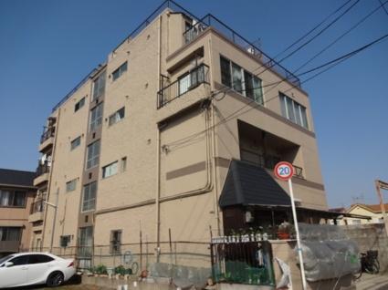 大阪府東大阪市、高井田中央駅徒歩11分の築42年 4階建の賃貸マンション