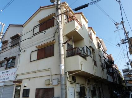 大阪府八尾市、八尾駅徒歩6分の築25年 3階建の賃貸マンション