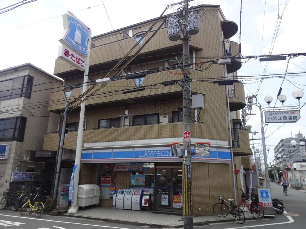 大阪府東大阪市、長瀬駅徒歩11分の築28年 4階建の賃貸マンション