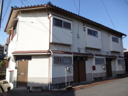 大阪府松原市、高見ノ里駅徒歩17分の築44年 2階建の賃貸アパート