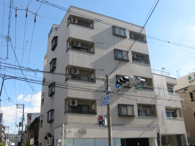 大阪府東大阪市、俊徳道駅徒歩9分の築30年 5階建の賃貸マンション
