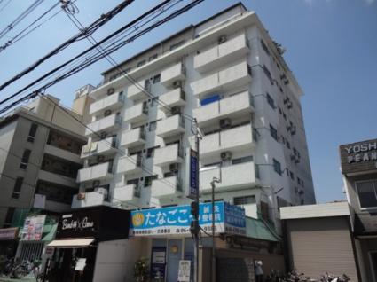 大阪府東大阪市、河内小阪駅徒歩13分の築42年 7階建の賃貸マンション