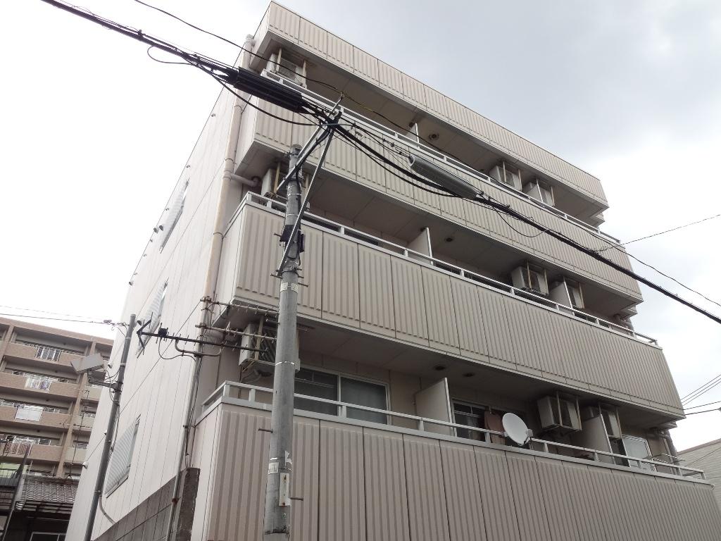 大阪府東大阪市、布施駅徒歩9分の築20年 4階建の賃貸マンション