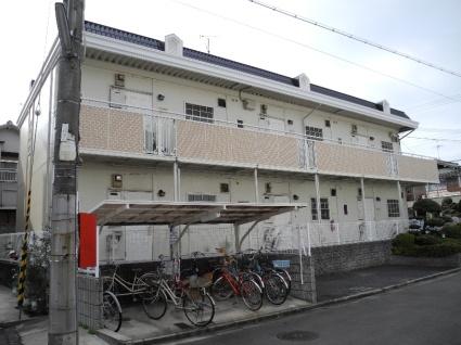 大阪府羽曳野市、恵我ノ荘駅徒歩18分の築28年 2階建の賃貸アパート
