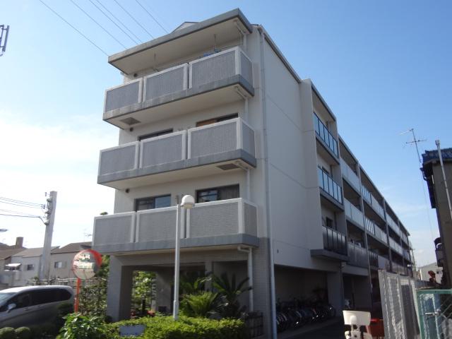 大阪府八尾市、久宝寺口駅徒歩29分の築22年 4階建の賃貸マンション
