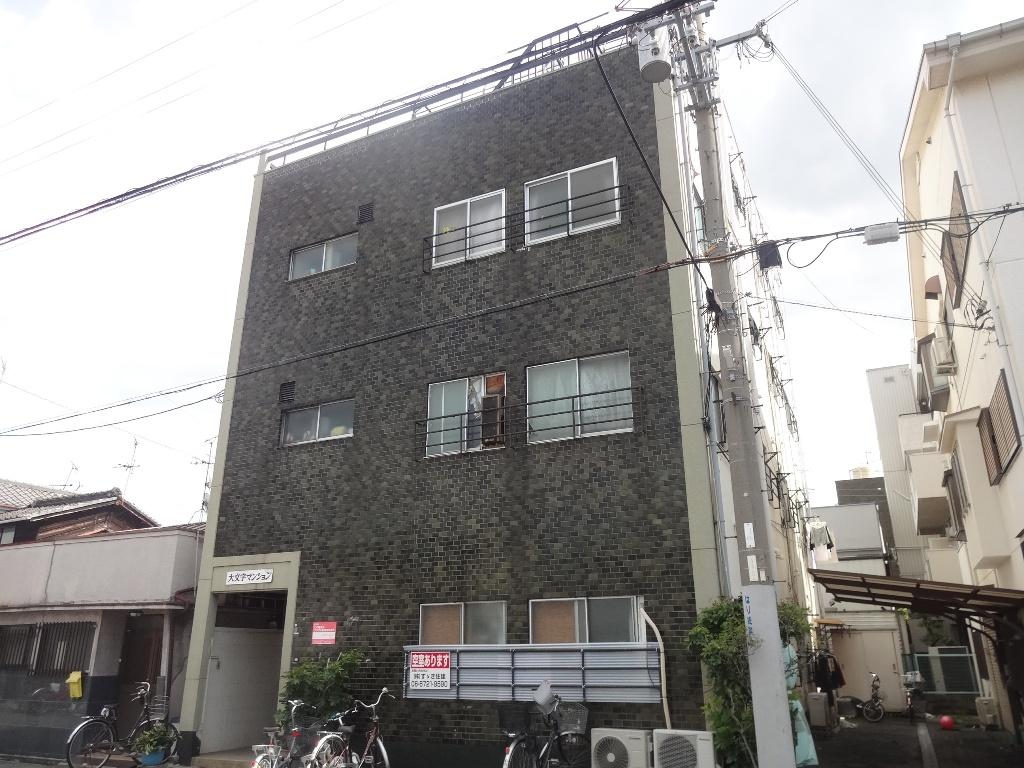 大阪府東大阪市、JR俊徳道駅徒歩6分の築48年 4階建の賃貸マンション
