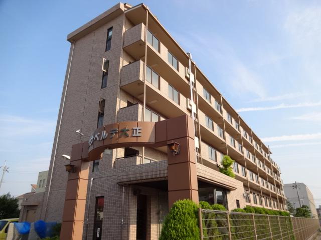 大阪府八尾市、長原駅徒歩26分の築22年 5階建の賃貸マンション