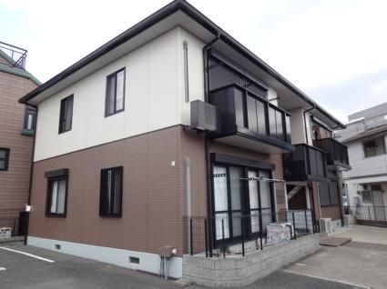 大阪府羽曳野市、恵我ノ荘駅徒歩23分の築17年 2階建の賃貸アパート