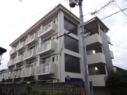 大阪府松原市、河内天美駅徒歩22分の築43年 4階建の賃貸マンション