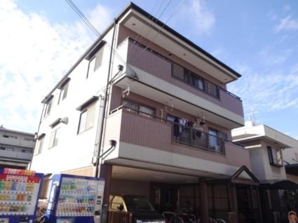 大阪府東大阪市、荒本駅徒歩18分の築23年 3階建の賃貸アパート