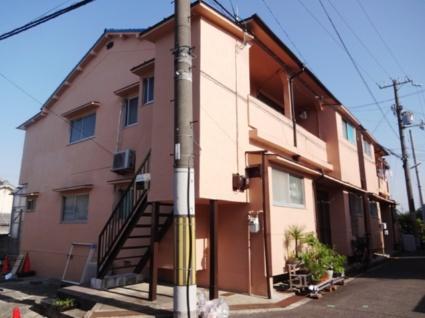 大阪府東大阪市、石切駅徒歩22分の築43年 2階建の賃貸アパート