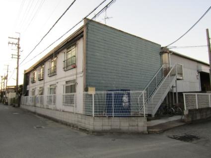 大阪府東大阪市、JR長瀬駅徒歩15分の築41年 2階建の賃貸アパート