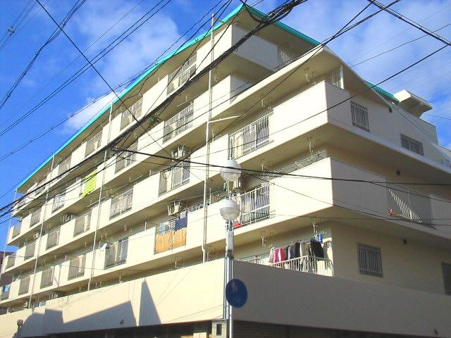 大阪府八尾市、久宝寺駅徒歩28分の築31年 6階建の賃貸マンション