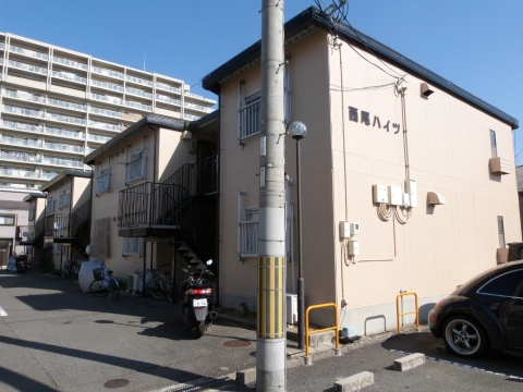 大阪府八尾市、八尾駅徒歩15分の築31年 2階建の賃貸アパート