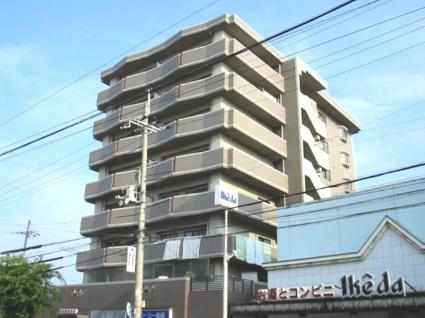 大阪府大阪市平野区、出戸駅徒歩20分の築23年 8階建の賃貸マンション