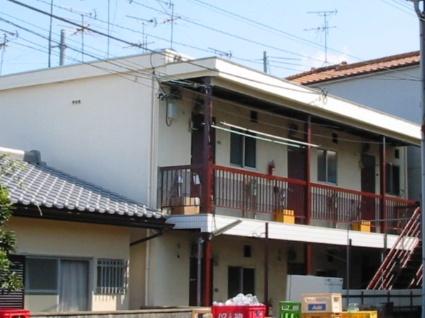 大阪府羽曳野市、恵我ノ荘駅徒歩13分の築45年 2階建の賃貸アパート