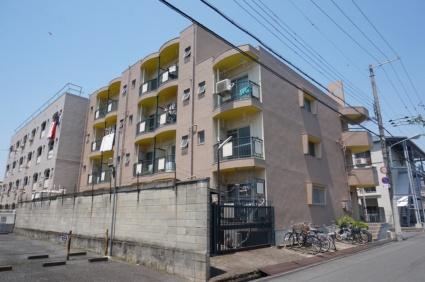 大阪府東大阪市、河内花園駅徒歩14分の築40年 4階建の賃貸マンション