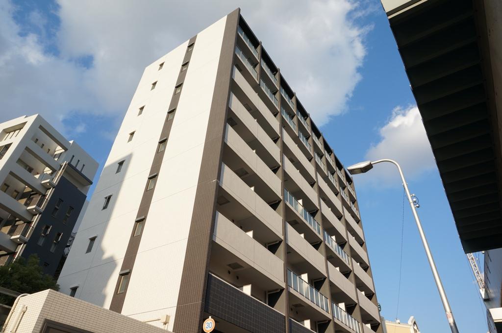 大阪府大阪市都島区、京橋駅徒歩7分の築8年 9階建の賃貸マンション
