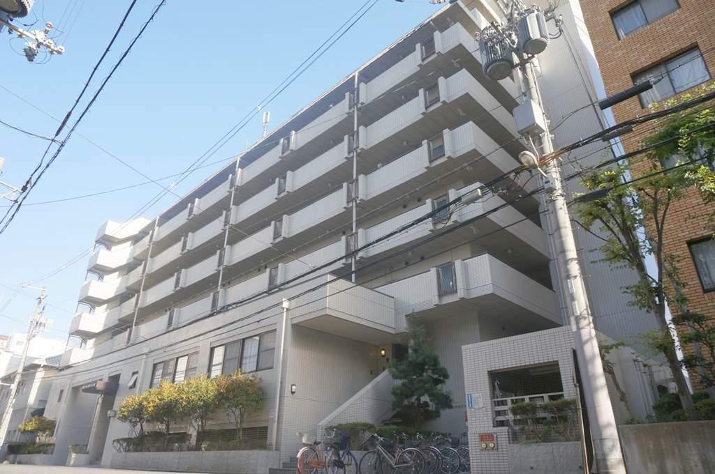 大阪府大阪市都島区、大阪城北詰駅徒歩3分の築28年 9階建の賃貸マンション
