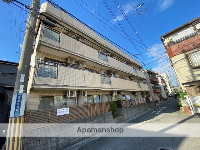 大阪府東大阪市、徳庵駅徒歩5分の築27年 3階建の賃貸マンション