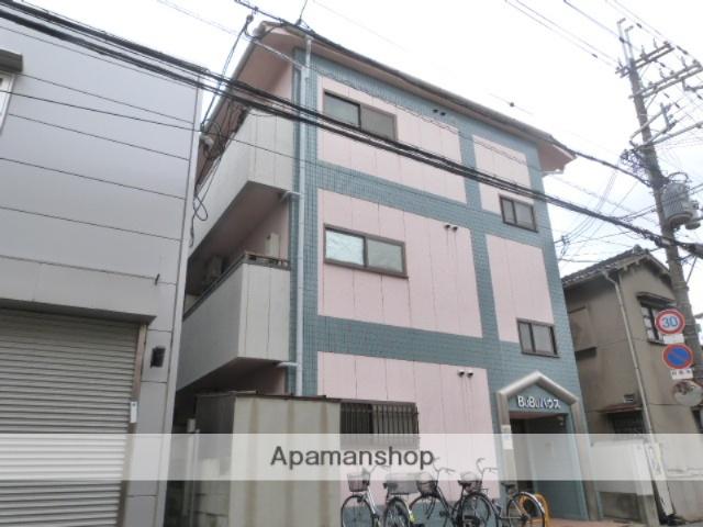大阪府東大阪市、徳庵駅徒歩6分の築22年 3階建の賃貸マンション