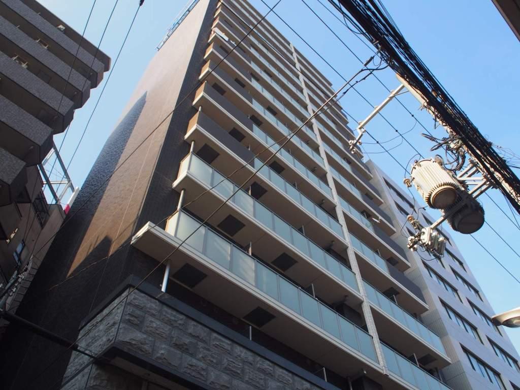 大阪府大阪市福島区、海老江駅徒歩1分の築1年 15階建の賃貸マンション