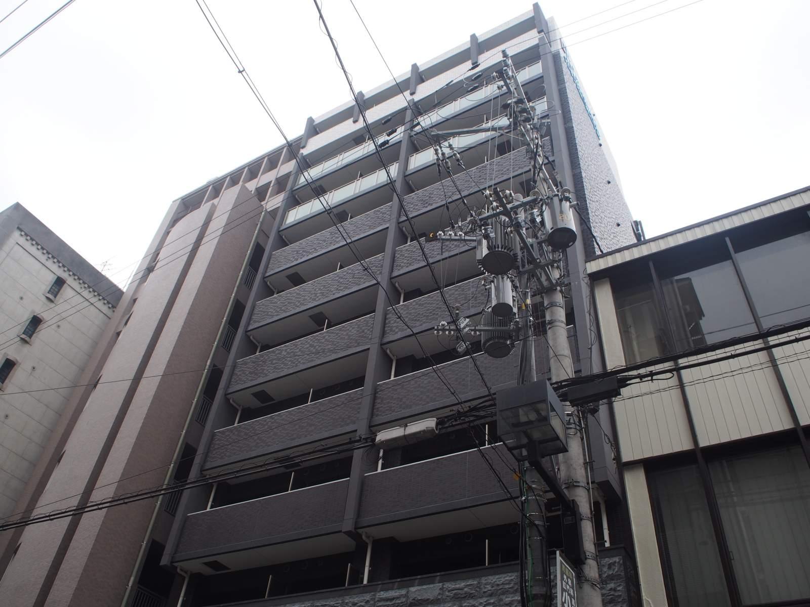 大阪府大阪市北区、大阪天満宮駅徒歩8分の築1年 11階建の賃貸マンション
