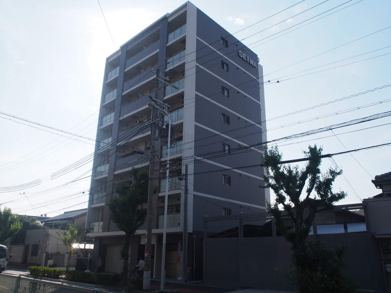 大阪府大阪市福島区、海老江駅徒歩5分の築1年 8階建の賃貸マンション