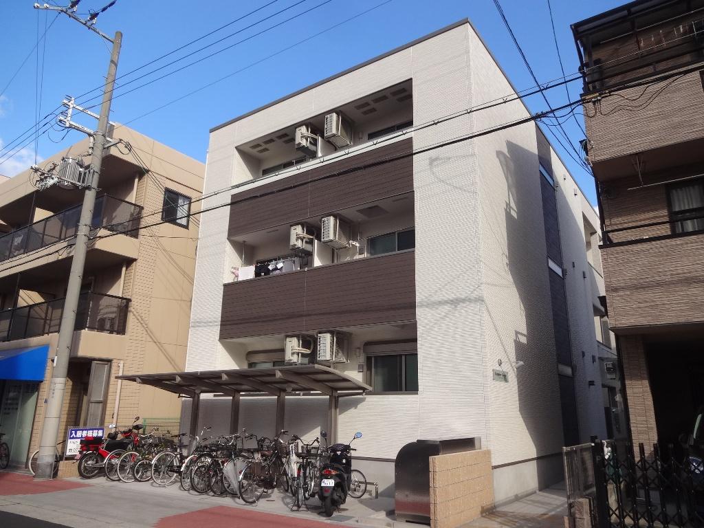 大阪府大阪市旭区、滝井駅徒歩14分の築1年 3階建の賃貸アパート