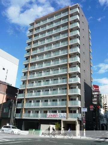 大阪府大阪市北区、福島駅徒歩6分の新築 13階建の賃貸マンション