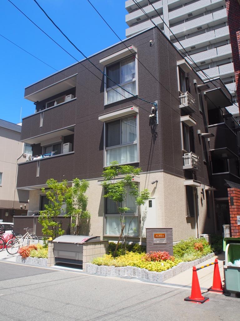 大阪府大阪市北区、中津駅徒歩11分の新築 3階建の賃貸アパート