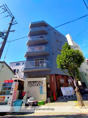 大阪府大阪市福島区、野田駅徒歩5分の築43年 5階建の賃貸マンション