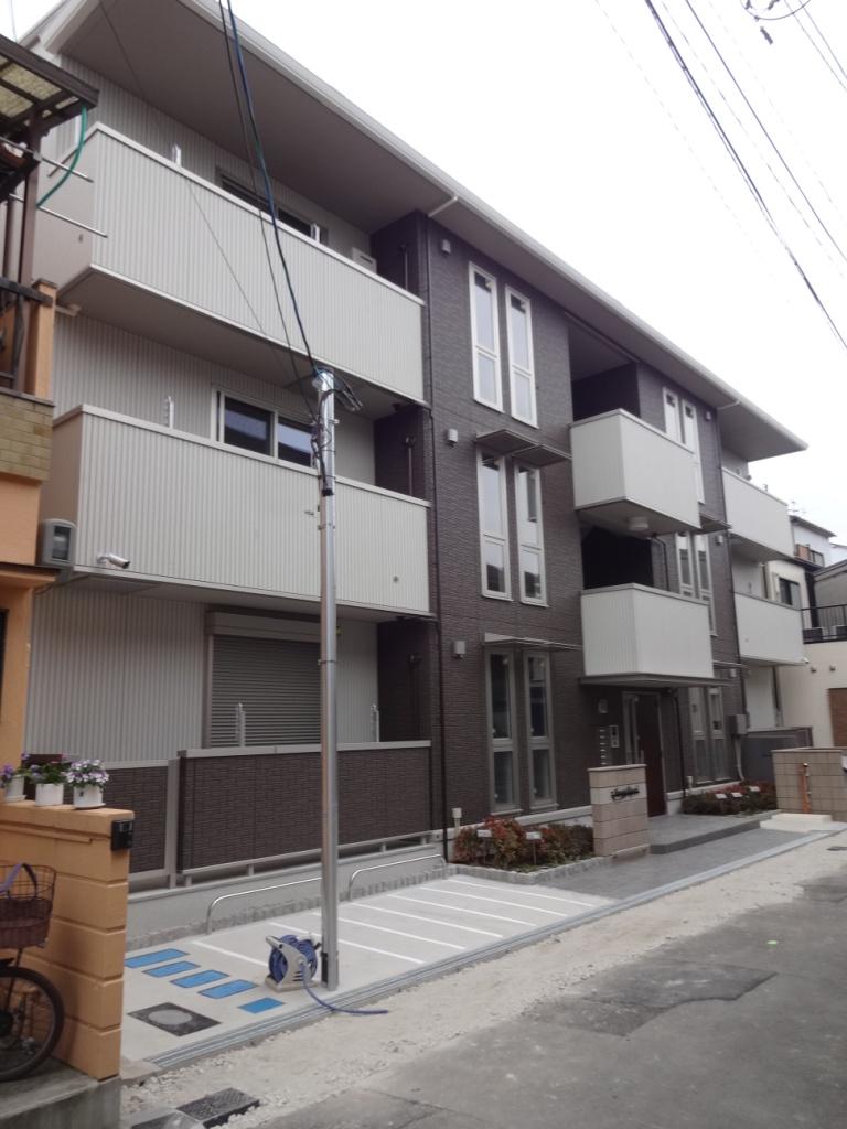 大阪府大阪市旭区、千林駅徒歩5分の新築 3階建の賃貸マンション