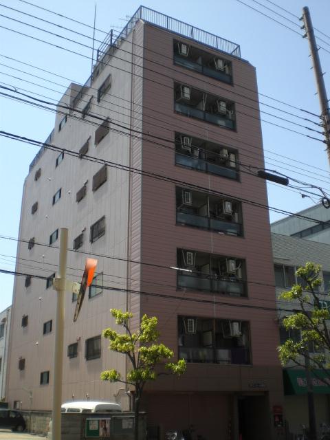 大阪府大阪市城東区、関目駅徒歩4分の築28年 8階建の賃貸マンション