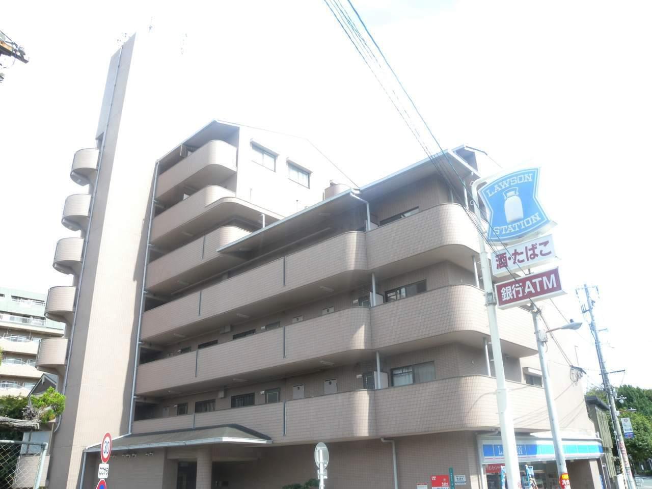 大阪府大阪市都島区、桜ノ宮駅徒歩1分の築25年 7階建の賃貸マンション