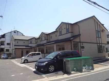 大阪府東大阪市、放出駅徒歩25分の築9年 2階建の賃貸アパート