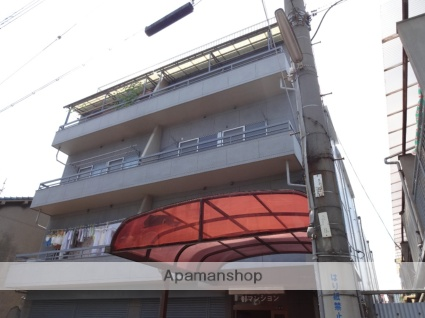 大阪府東大阪市、高井田中央駅徒歩10分の築42年 4階建の賃貸マンション