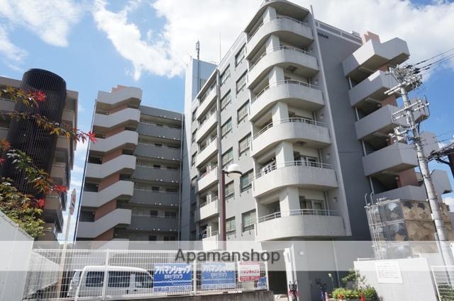 大阪府東大阪市、瓢箪山駅徒歩23分の築21年 7階建の賃貸マンション