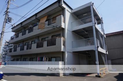 大阪府東大阪市、瓢箪山駅徒歩10分の築29年 3階建の賃貸マンション