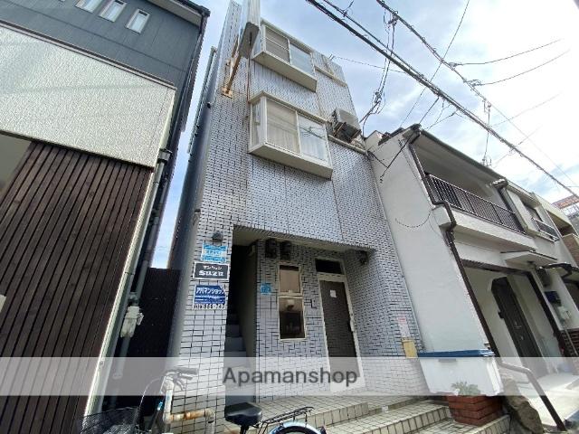 大阪府東大阪市、JR河内永和駅徒歩10分の築27年 4階建の賃貸マンション