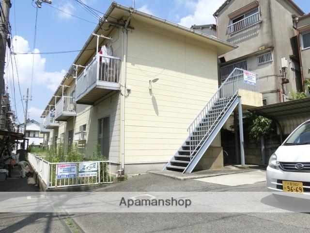 大阪府東大阪市、東花園駅徒歩38分の築25年 2階建の賃貸アパート