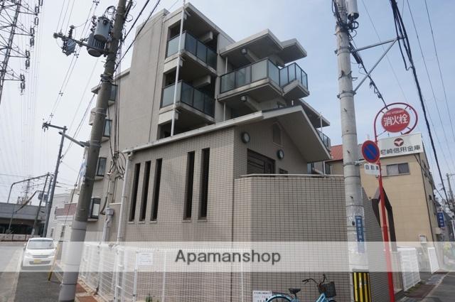 大阪府東大阪市、河内花園駅徒歩15分の築24年 4階建の賃貸マンション