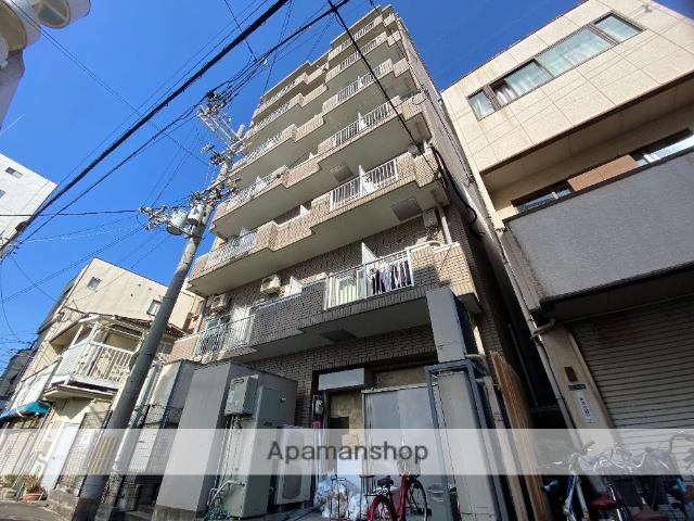 大阪府東大阪市、JR河内永和駅徒歩11分の築28年 7階建の賃貸マンション