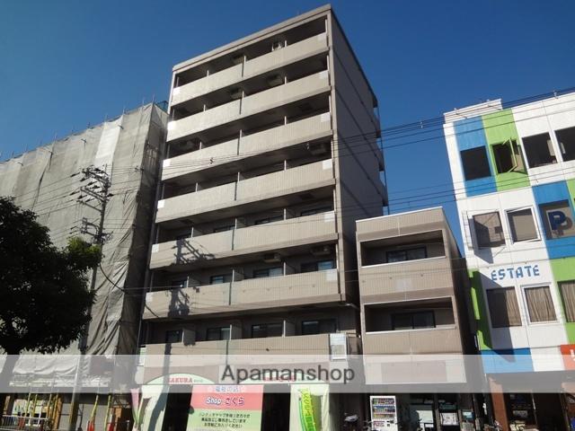 大阪府東大阪市、河内永和駅徒歩16分の築20年 8階建の賃貸マンション
