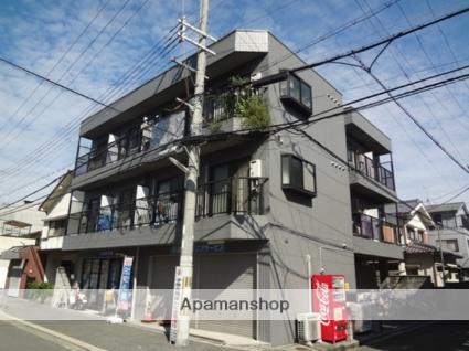 大阪府東大阪市、八戸ノ里駅徒歩18分の築22年 3階建の賃貸マンション