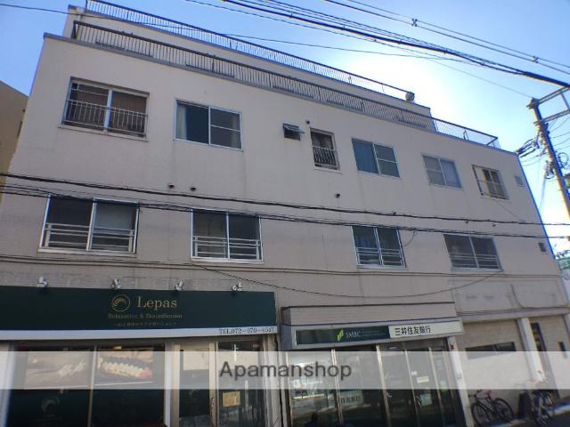 大阪府東大阪市、瓢箪山駅徒歩4分の築40年 4階建の賃貸マンション
